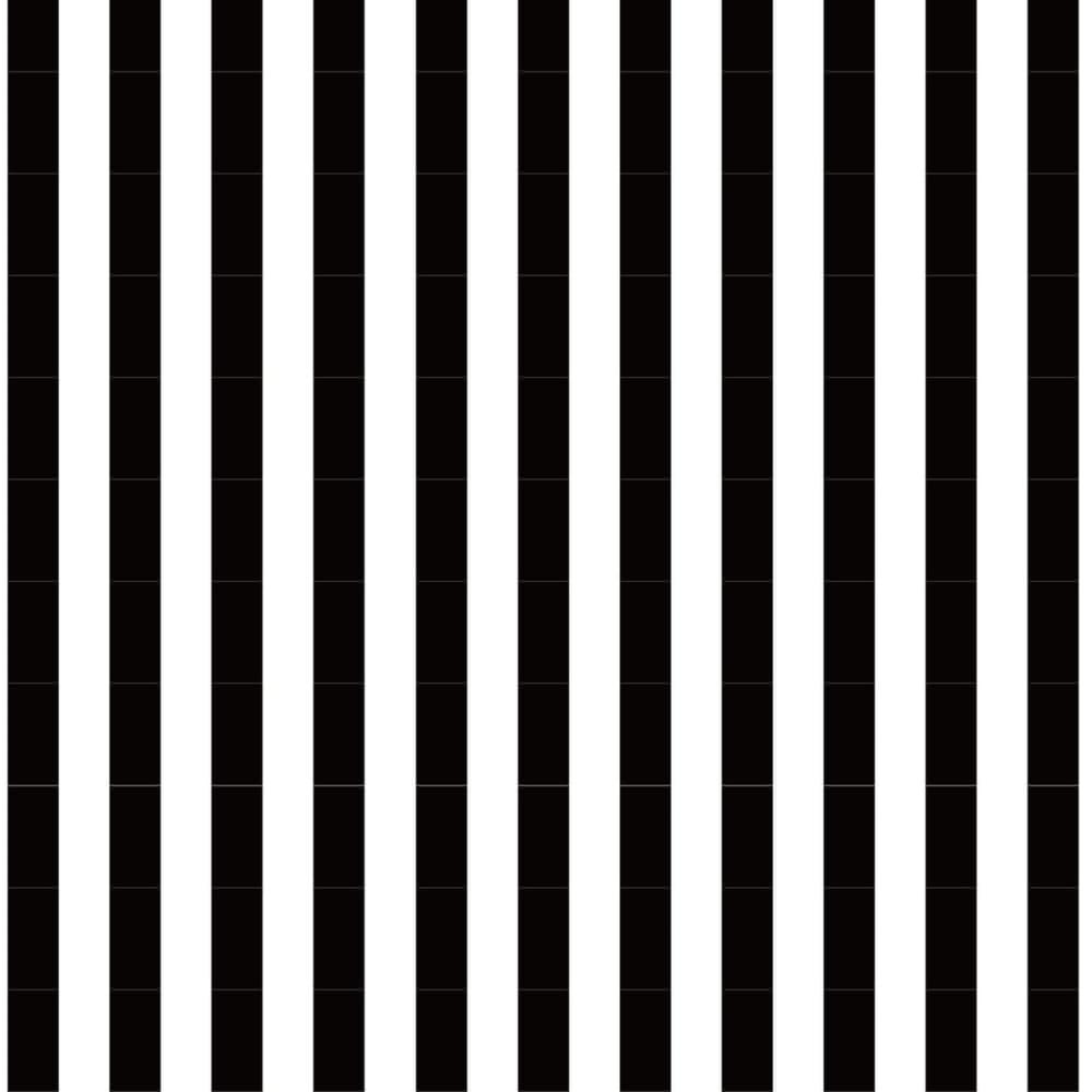 シンプルな黒と白のストライプ柄のラッピング素材