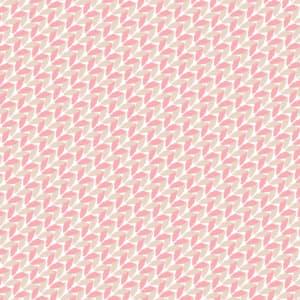 ピンク色の毛糸で編んだようなラッピング素材