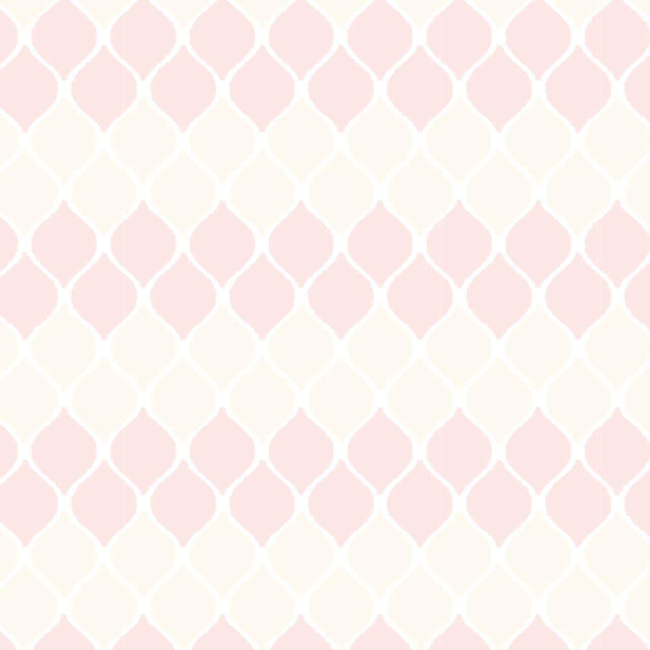 淡いピンク色のカフェタイルのようなラッピング素材