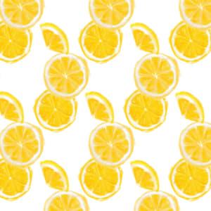 手書きのオレンジのラッピング素材