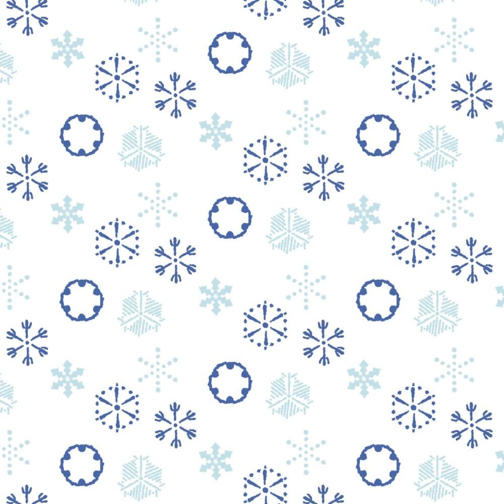 江戸時代の雪の結晶柄